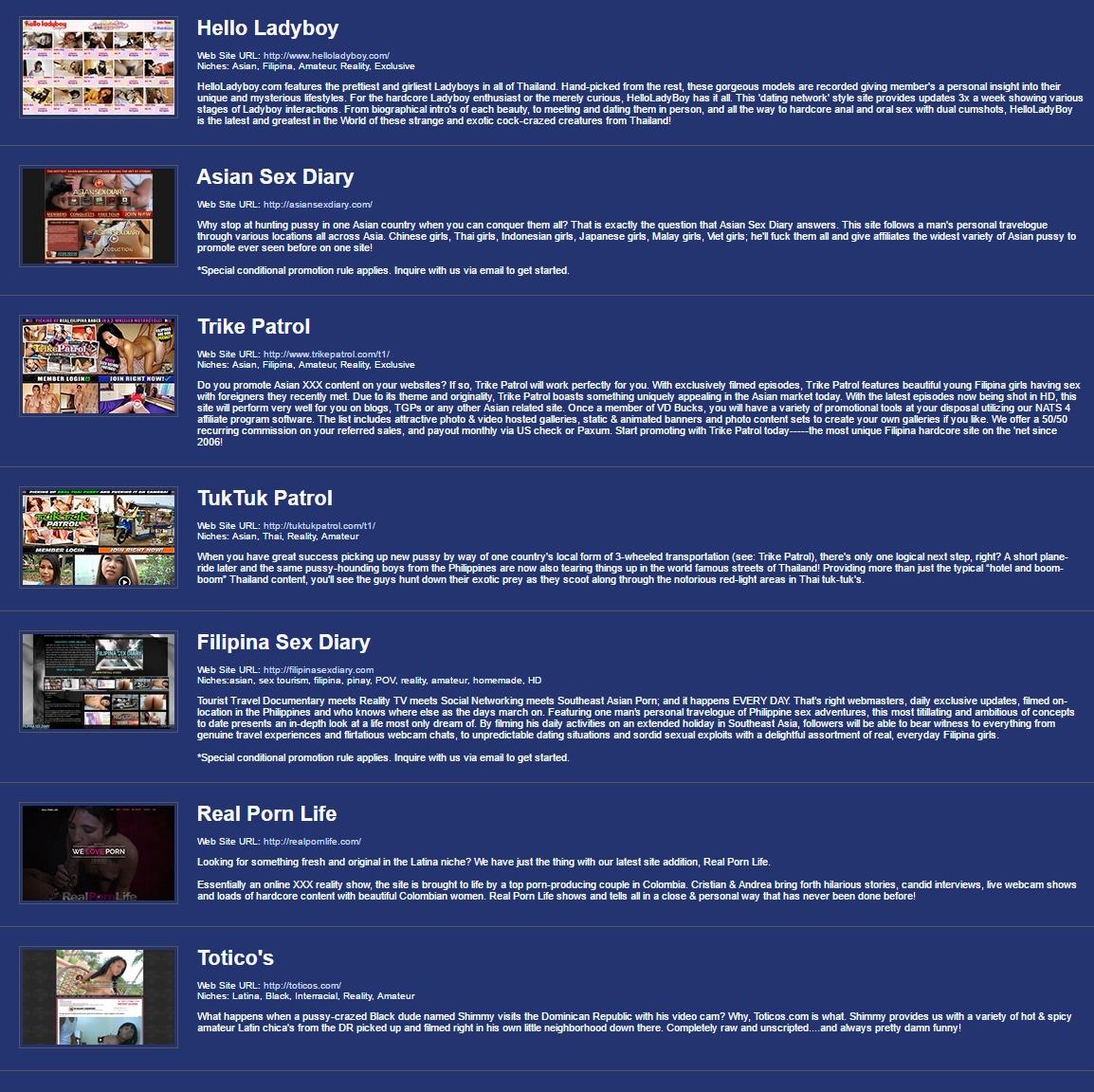 Affiliate Porn Program 19 top amateur porn site affilite programs - porn affiliate